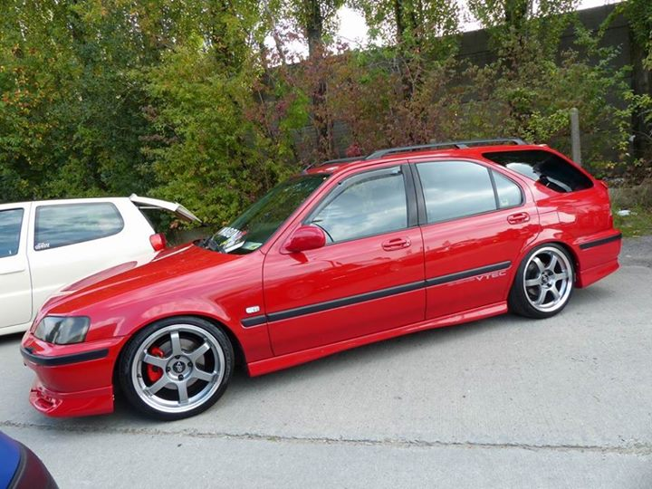 16s or 17s on aerodeck chassis civic5 honda civic ma. Black Bedroom Furniture Sets. Home Design Ideas